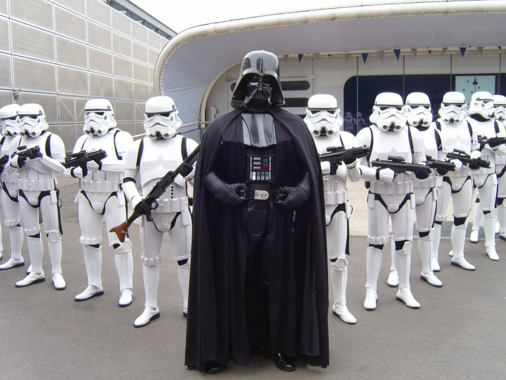 Darth Vader & Storm Troopers