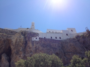 The church at Mandraki, Nissyros