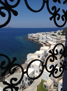 View from the church at Mandraki, Nissyros