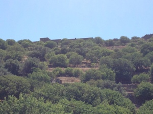 The castle walls at Mandraki, Nissyros