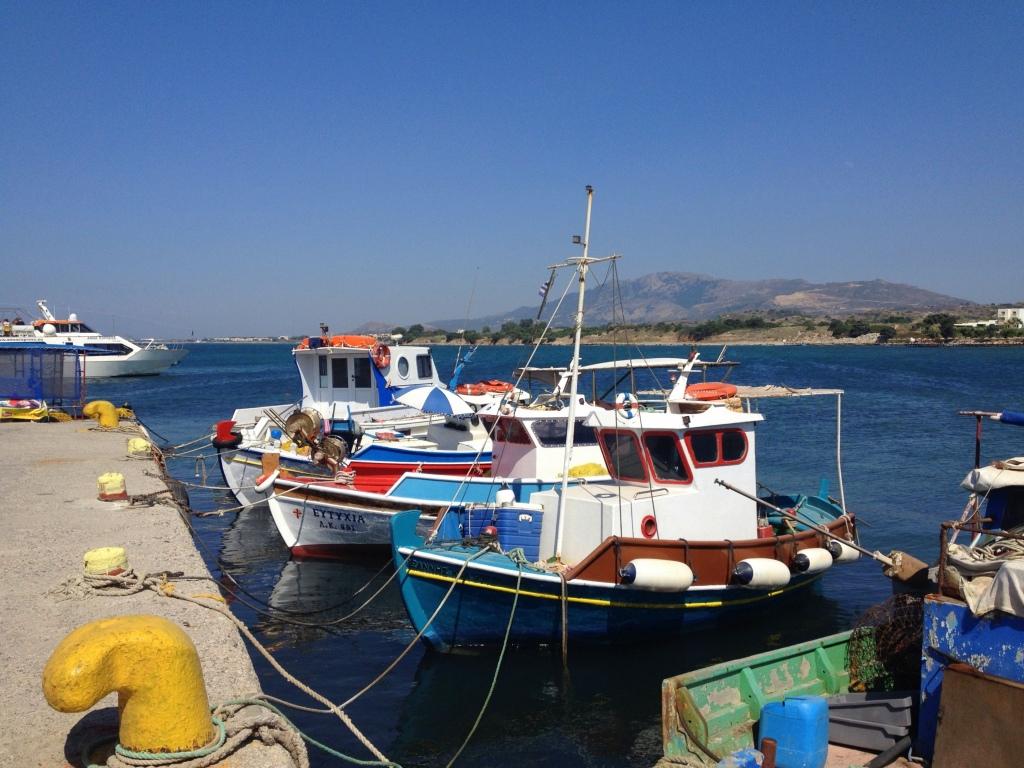 Fishing boats at Mastahari, Kos