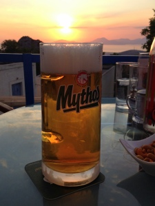 Sunset Mythos at the Old House Cafe, Zia