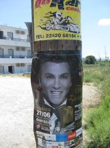 Scary poster in Tigaki