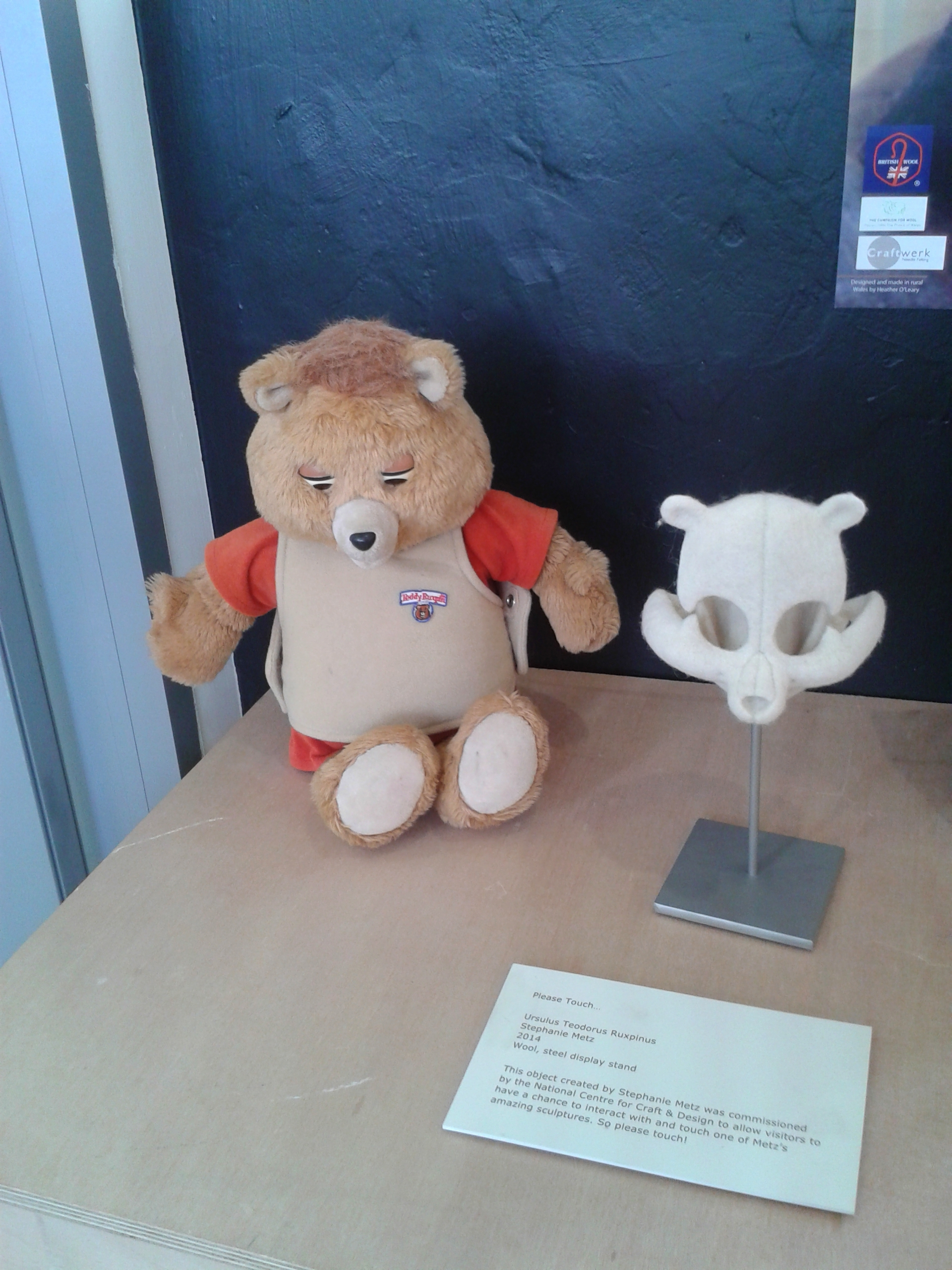 Black Sheep: the darker side of felt @ Clitheroe – couchmagpie