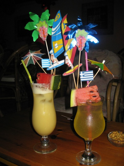 Some over-dressed cocktails