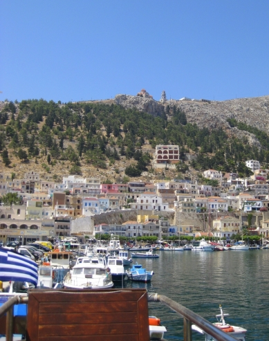 Docked at Kalymnos