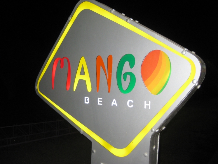 ...Mango Beach Bar, Tigaki
