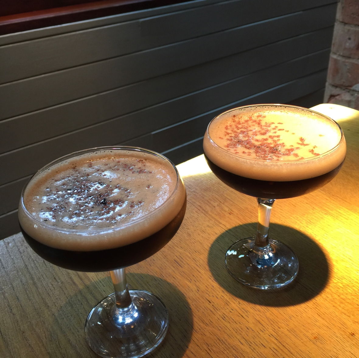 Espresso Martini at Revs