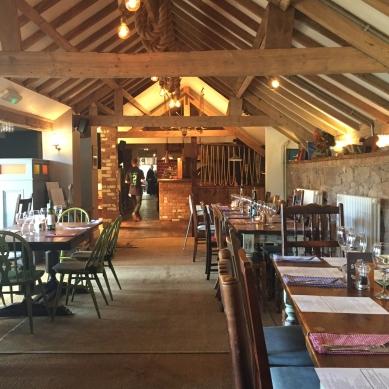 Inside the Blue Bell Inn