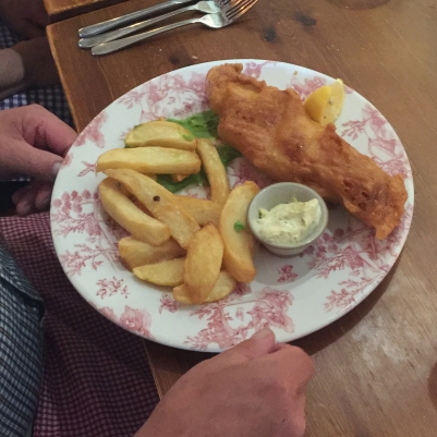 Fish and chips innit...