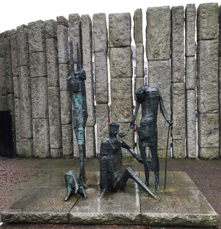 Dublin-Famine-Statues