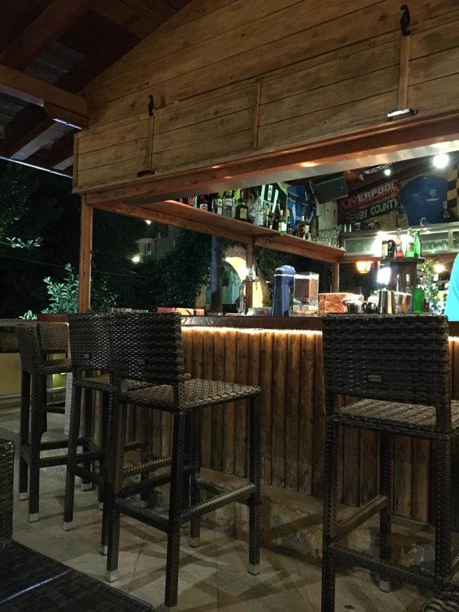 An empty looking Victoria bar